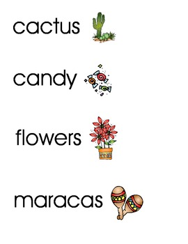 Mexico Words and Pictures