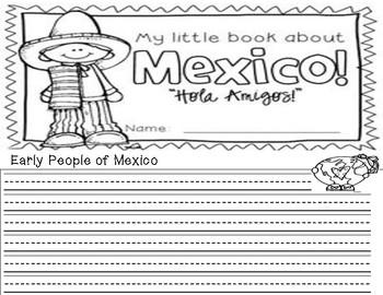 Mexico booklet