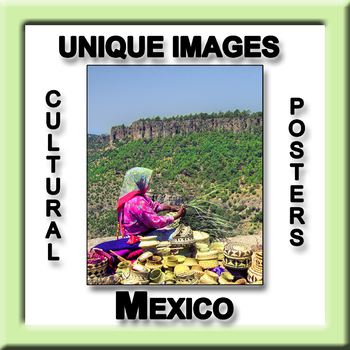 Mexico in Photos Poster - Vertical
