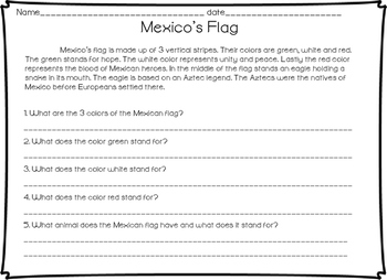 Mexico's Independence Activity Bundle