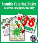 Mexico's Independence day September 16 - Spanish Adult Col