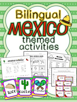 Mexico-themed activities for Cinco de Mayo!