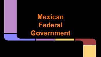 Mexico's Federal Government Notes