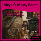 Meyer's Messy Room Perspective Art Project
