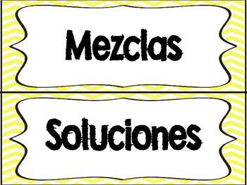 Mezclas y Soluciones Sort