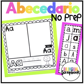 Mi Alfabeto {Alphabet Practice Pages in Spanish}