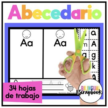 Mi Alfabeto {Alphabet Practice Pages in Spanish}
