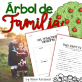 Spanish Family Tree Craftivity!