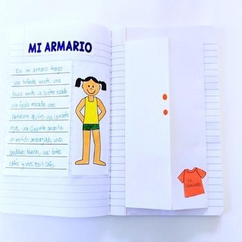 Mi Armario {Interactive Notebook Activity - Clothing}