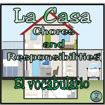 Home Topic; Chores and Responsibilities Vocabulary Thematic Reference