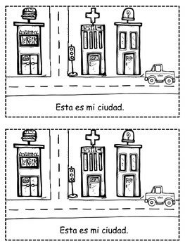 Mi Ciudad - Easy Spanish Reader