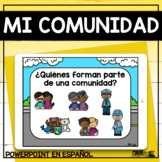 Mi Comunidad - Spanish PowerPoint