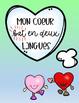 Mi Corazon Late En Dos Idiomas Spanish Poster