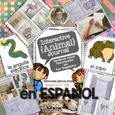 El Cuaderno Interactivo de Animales Grados 1-3