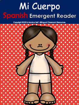 My Body/Mi Cuerpo Spanish Emergent Reader