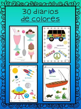 Mi Diario - Spanish Writing Journal Perfect for Dual Language