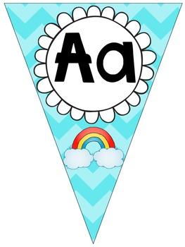 Mi Dulce ABC {ABC Sweet Bunting Banner in Spanish}