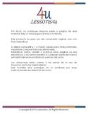 Spanish: Mi Escuela - Pack 1 - Actividades