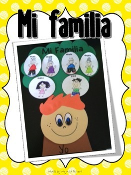 Mi Familia (All about my Family in Spanish)