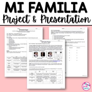 Mi Familia Project / Family Project