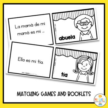 Mi Family Activity Pack (My Family in Spanish)