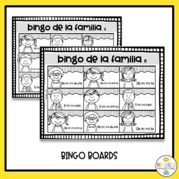 My Family in Spanish Activity Pack - Mi Familia