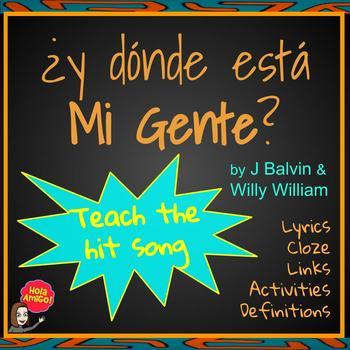 Mi Gente - J Balvin Song Packet