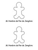 SPANISH & ENGLISH Emergent Reader: My Gingerbread Man