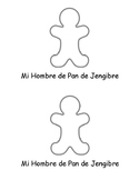 SPANISH & ENGLISH Emergent Reader: My Gingerbread Man