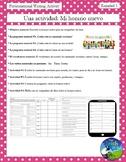 Mi Horario II - Student Class Schedule (Class subjects) - Spanish