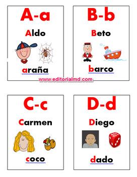 """Mi Juego de Loteria para Imprimir MD """"Silabas"""" y """"Letras"""""""