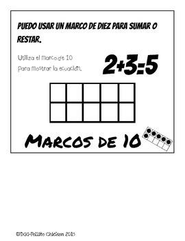 Spanish Addition and Subtraction Flipbook - Estrategias para Sumar y Restar