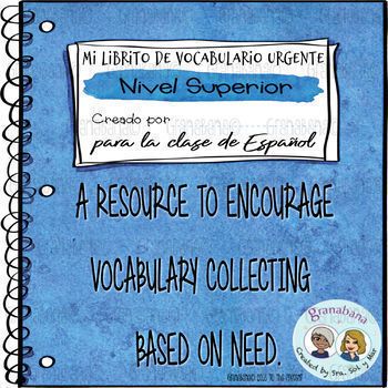 Mi Librito de Vocabulario Urgente: Nivel Superior