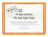 ~FREE~GRATIS~ Libro Perfecto ~ Just Right Book bilingüe