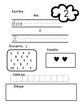 Spanish Counting Book (Mi Libro de Conteo 0-10)