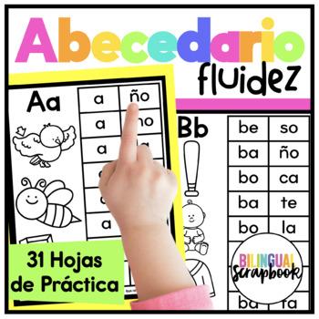Mi Libro de Palabras {Alphabet fluency in Spanish}