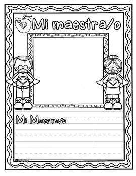 Mi Libro de recuerdos (Superheroe) Pre-Kinder