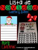 Mi Lista de Navidad- Carta y Libro/ My Christmas List - letter & flip book