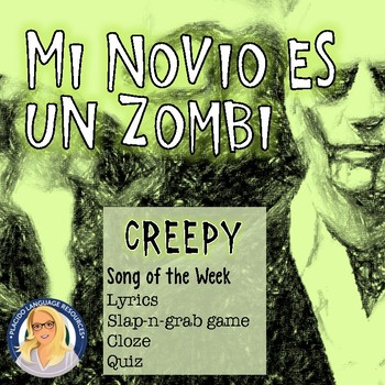 Mi Novio es un zombi Song Activity Pack