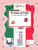 Italian Fruit Words (Mi Piace la Frutta) with  Rap-like Chant and MP3