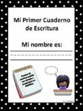 Mi Primer Cuaderno de Escritura Espanol