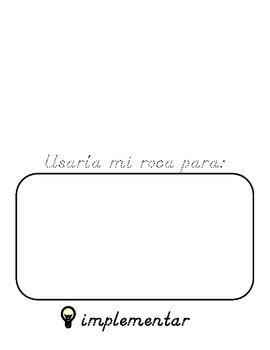 Mi Roca (Spanish Flip Book)