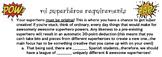 Mi Superhéroe Project - SER + ADJECTIVES