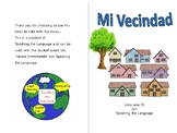 Mi Vecindad, booklet for Greetings and Goodbyes