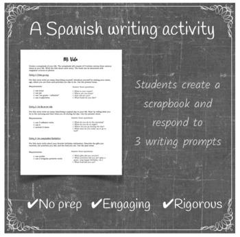 Mi Vida: End of Year Writing Project
