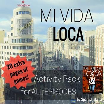 Mi Vida Loca Activity and Game Pack Bundle