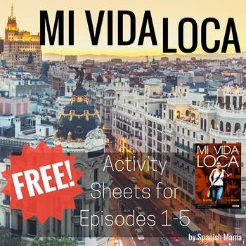 Mi Vida Loca Activity and Guide Freebie for Ep. 1-5