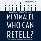 Mi Yimalel - Who Can Retell? Hanukkah Traditional Song Boo