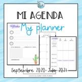 Mi agenda My planner 2020-2021