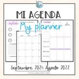 Mi agenda My planner 2021-2022